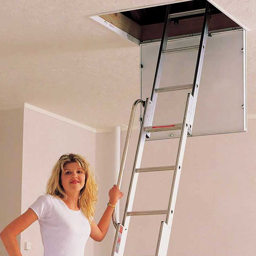 Home Pro Combination Attic Ladder And Hatch